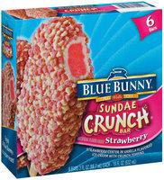 Blue Bunny Strawberry Sundae Crunch 3.0 Oz Ice Cream Bar 6 Ct Box
