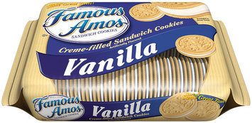 Famous Amos® Vanilla Creme-Filled Sandwich Cookies 17.5 oz. Bag