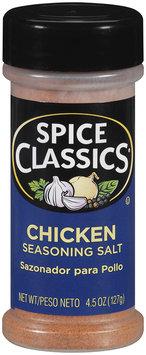 Spice Classics® Chicken Seasoning Salt 4.5 oz. Shaker