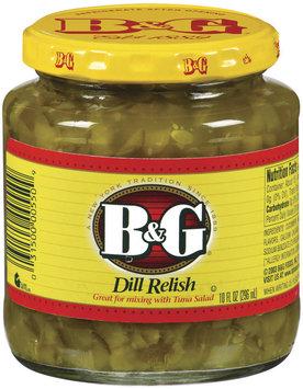B&G Dill Relish 10 Oz Jar