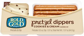 Rold Gold Pretzel Dippers Cookies and Cream Pretzels 1.57 oz. Tray