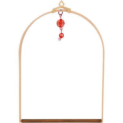 Pops Hummingbird Swings-Arbor Swing- Nat. Wood Stain ARBSWING-NTL