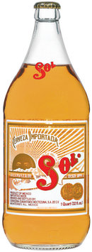 Sol Lager Beer 32 fl. oz. Bottle