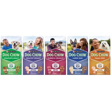 Purina Dog Chow Dog Food Family Group Shot