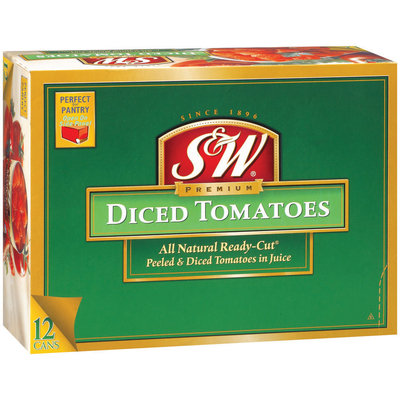 S&W® Diced Tomatoes Club Pack