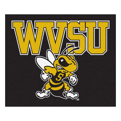 Sls Mats Collegiate West Virginia State Tailgater Area Rug