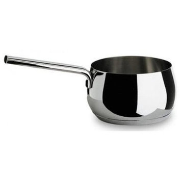 Alessi Mami Saucepan Mirror Polished Stainless Steel 14cm
