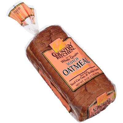 Country Kitchen® Whole Grain Scotch Oatmeal Bread 16 oz. Bag