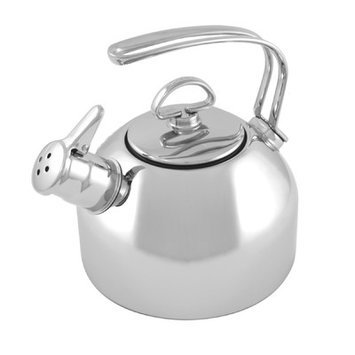 Chantal Classic Teakettle, 1.8-Qt. - Stainless Steel
