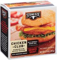 Steak-Eze® Chicken Club Sandwich with Bacon & American Cheese 5.76 oz. Box