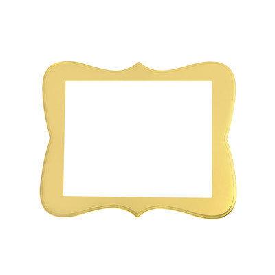 Secretly Designed Chase Frame Size: 16x20, Color: Buttercream