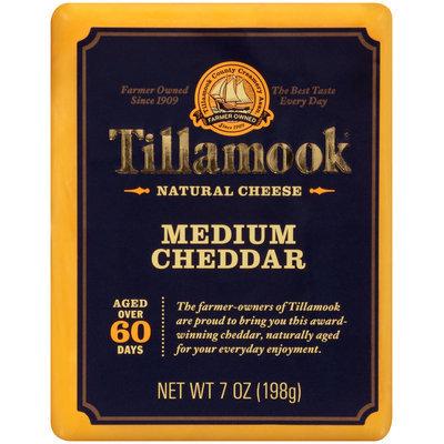 Tillamook® Medium Cheddar Natural Cheese 7 oz. Pack