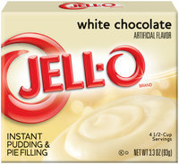 Jell-O Instant White Chocolate Pudding & Pie Filling 3.3 oz. Box