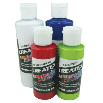 Createx Airbrush Colors, Pearl White