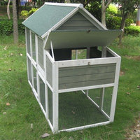 Innovation Pet Coops and Feathers Superior Hen House with Free Range Door
