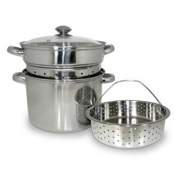 Cooks Pro Stainless Steel 4-piece Multi-purpose Pasta Cooker