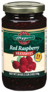 Haggen Red Raspberry Preserves