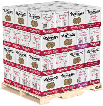 Martinelli's Gold Medal® Sparkling Apple Cider/Apple-Grape/Apple-Pomegranate 100% Juice Combo Pallet