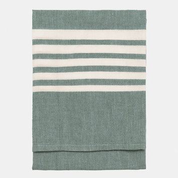 Nine Space Bali Kitchen Towel, 30 x 20, Emerald, 1 ea