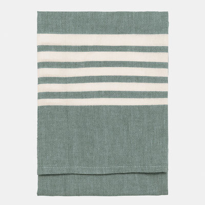 Nine Space Bali Kitchen Towel, 30 x 20, Emerald, 1 ea