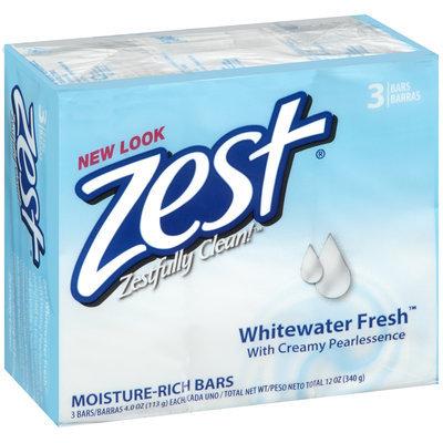 Zest® Whitewater Fresh™ Moisture-Rich Soap 3-4 oz. Bars