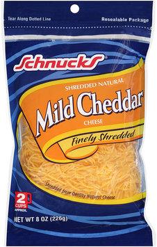 Schnucks® Finely Shredded Mild Cheddar Cheese 8 oz. Bag