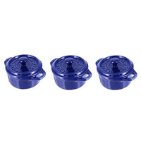 Staub 0.25-qt. Round Cocotte Color: Dark Blue