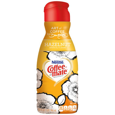 Coffee-mate® Bromstad Design Hazelnut Coffee Creamer
