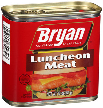 Bryan® Luncheon Meat 12 oz. Tin