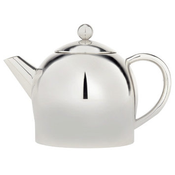 Cuisinox Teaps1 1 Liter Double Wall Teapot, Stainless Steel