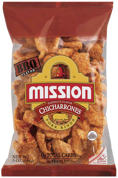Mission Chicharrones BBQ Pork Rinds 5 Oz Bag