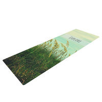 Kess Inhouse Explore by Robin Dickinson Quote Yoga Mat