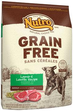 Nutro™ Natural Choice™ Grain Free Lame & Lentils Recipe Dog Food 24 lb. Bag