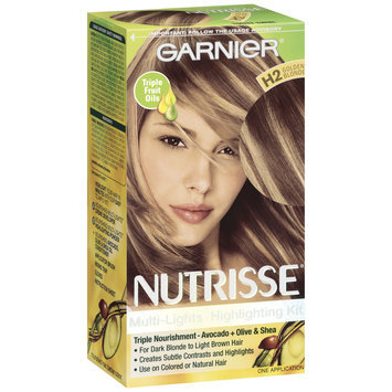 Garnier® Nutrisse® Multi-Lights Highlighting Kit, H2 Golden Blonde (Toffee Swirl)
