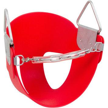 Swing Set Stuff Half Bucket Swing Seat Color: Red