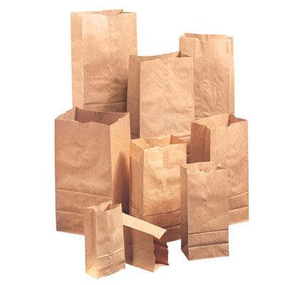 General 25 Squat Kraft Paper Bag in Brown