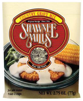 Shawnee Mills Country Gravy Mix 2.75 Oz Packet