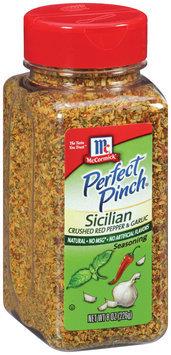 McCormick® Perfect Pinch® Sicilian Crushed Red Pepper and Garlic Seasoning 8 oz Shaker