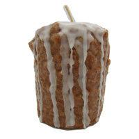 Starhollowcandleco Cinnamon Bun Pillar Candle Size: Taddy Fatty 2.5
