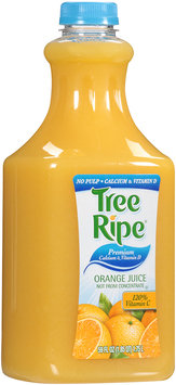 Tree Ripe® Premium Calcium & Vitamin D Orange Juice No Pulp 59 fl. oz. Bottle