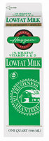 Haggen 1% Vitamin A & D Low Fat Milk 1 Qt Carton