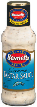 Bennetts Creamy Tartar Sauce 12 Oz Glass Bottle