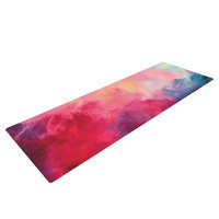 Kess Inhouse Reassurance by Caleb Troy Yoga Mat