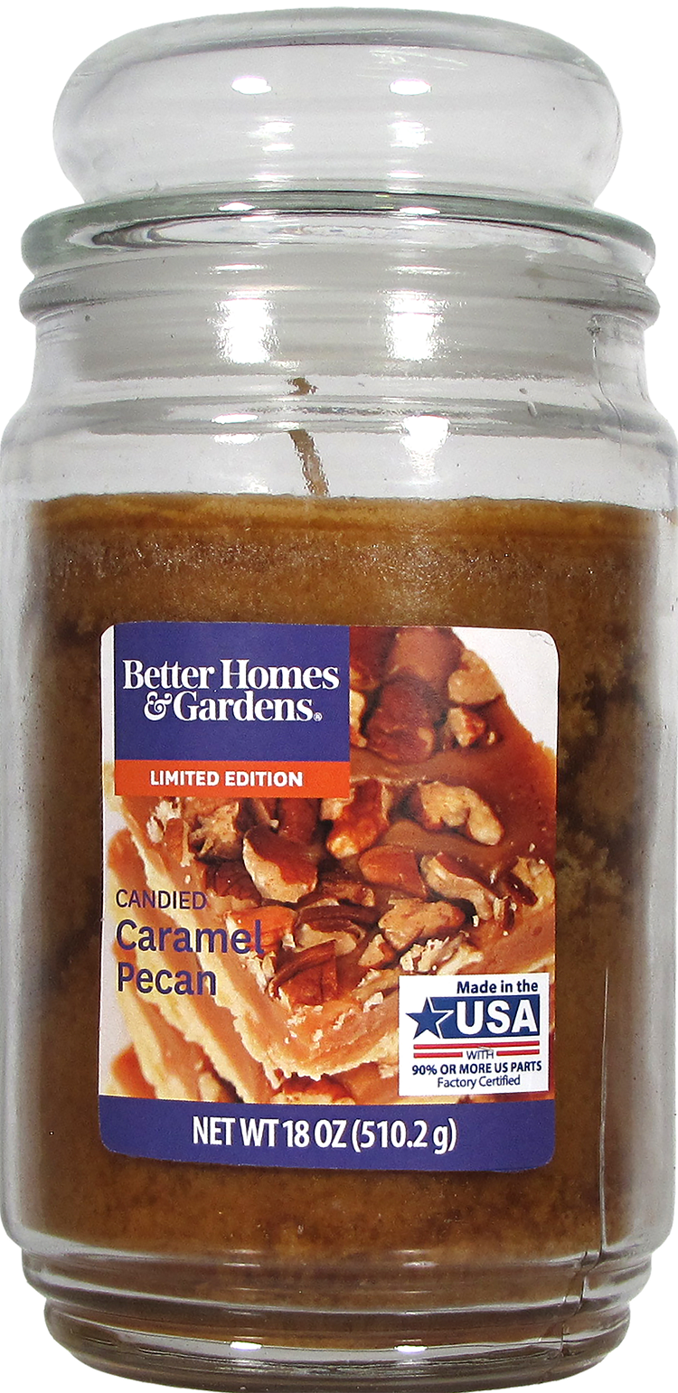 Better Homes & Gardens® Candied Caramel Pecan Candle