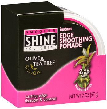 Smooth 'n Shine Polishing Olive & Tea Tree RevivOil Instant Edge Smoothing Pomade 2 oz. Jar