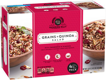 Washburn Mills™ Grains & Quinoa Salad 4 ct Box