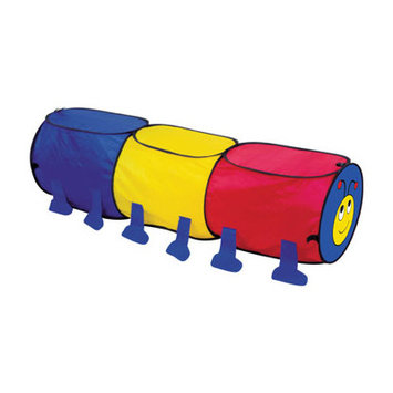 Pinnacle Import Toddler Toy Pop Up Crawling Worm Tunnel