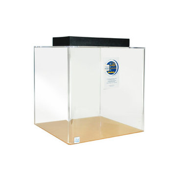 Clearforlife Cube Acrylic Aquarium Tank Color: Clear, Size: 24