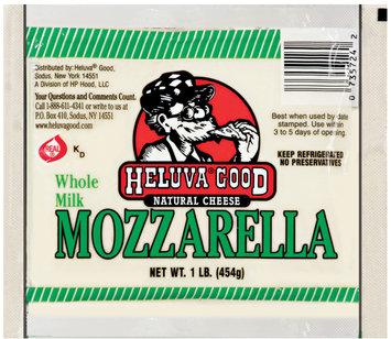 heluva good natural cheese mozzarella
