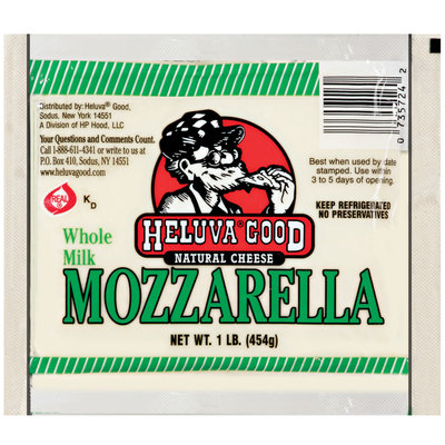 Heluva Good Natural Cheese Mozzarella 1 lb